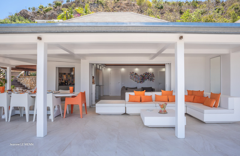 Villa Mapou - Privacy Villa for Rent with Heated Pool St Barth - Terrace