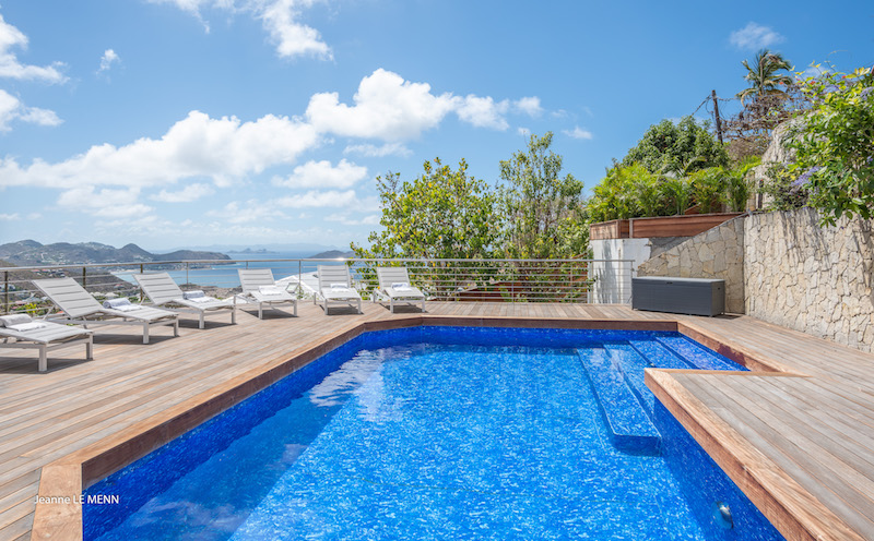 Villa Mapou - Privacy Villa for Rent with Heated Pool St Barth - Pool