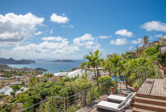 Villa Mapou - Privacy Villa for Rent with Heated Pool St Barth - Seaview