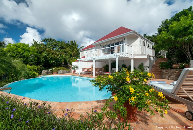 Villa Margot - Caribbean Villa for Rent St Barth with an Incredible Tropical Garden - Outside view