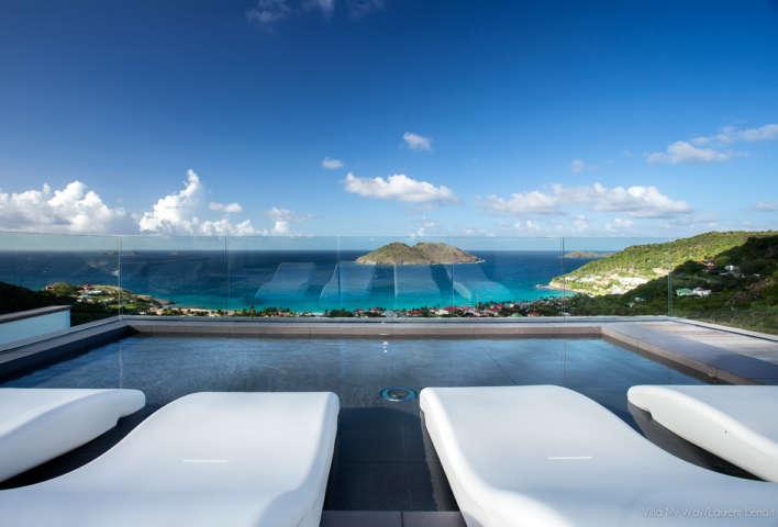 Villa My Way - Ultra Contemporary Luxury Villa Rental St Barth Offering Complete Privacy - Seaview