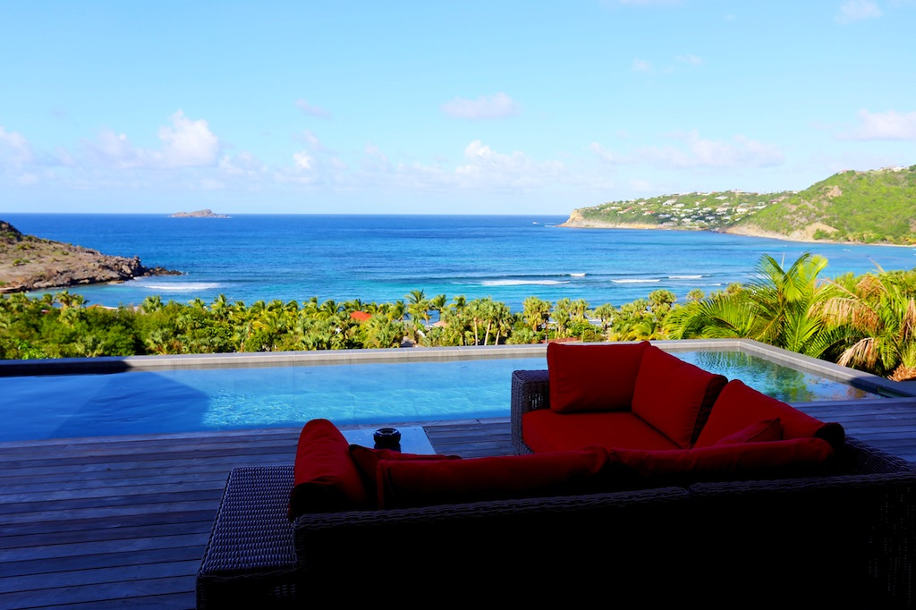 Villa Nita - Classy Villa for Rent St Barth with a Breathtaking View from Pointe Milou to St Martin - Ocean View