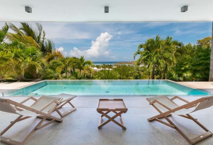 Villa Palm - Very Chic Designed Property Including Woodden Materials and White Color Touch - View