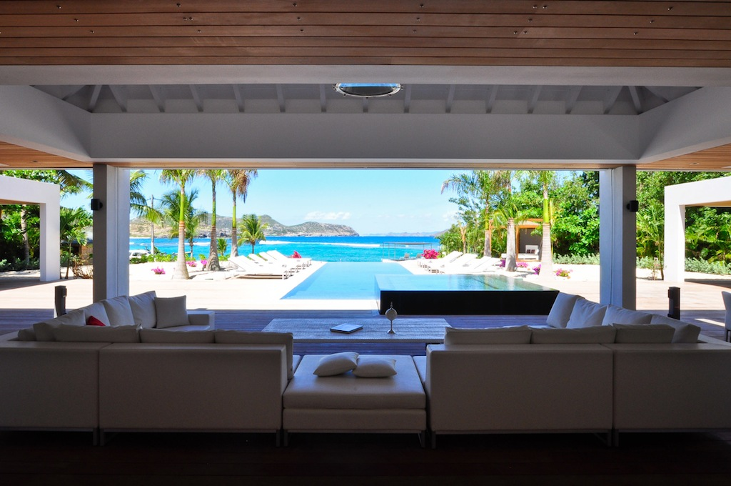 Villa Palm Beach - Oceanfront Villa for Rent St Barth with Luxury Services - Terrace