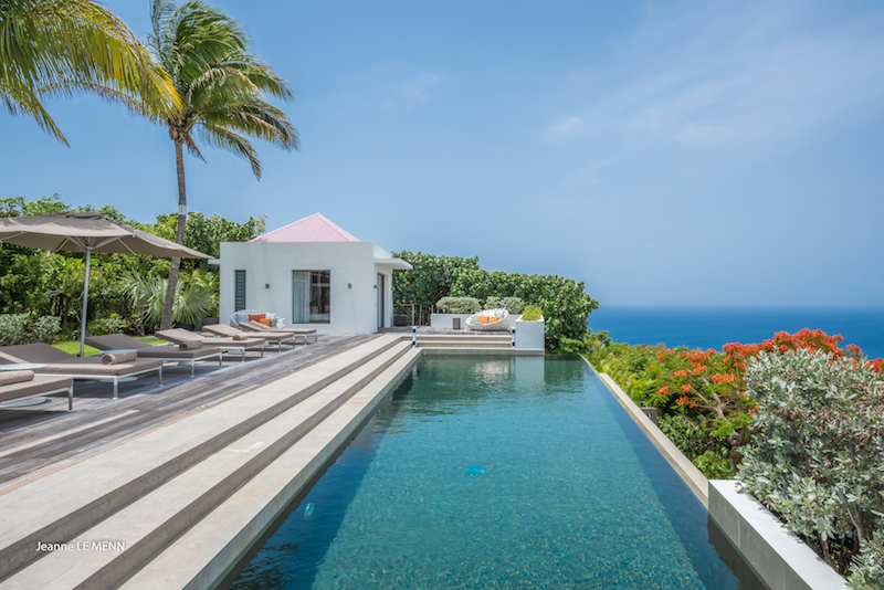 Villa Palm Springs - Modern Villa Rental St Barth Ideal for Family with a Private Gym Room - Pool