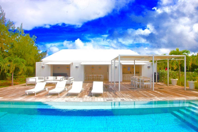 Villa Peak - Ideal Family Property For Rent St Barth Pointe Milou with Parking - Outside View