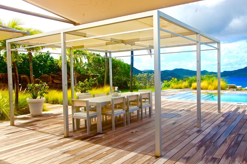Villa Peak - Ideal Family Property For Rent St Barth Pointe Milou with Parking - Patio