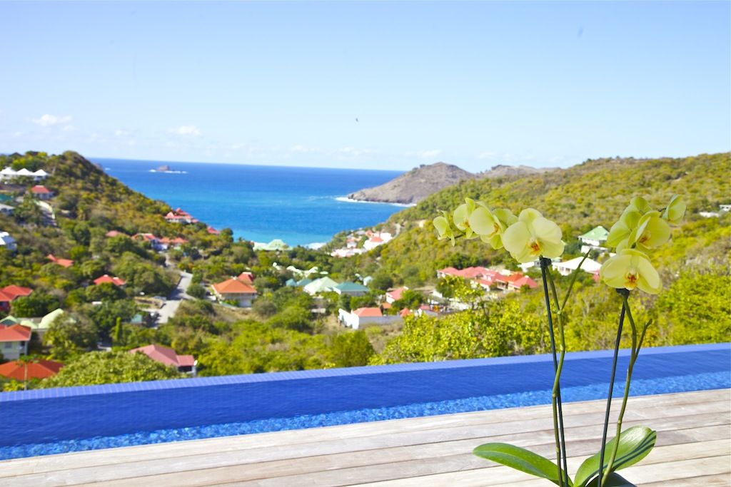 Villa Rivendell - Seaview Villa for Rent with a Beautiful View on the Hills of Flamands and the Bay - Seaview