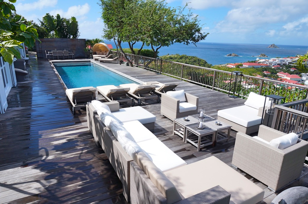 Villa Serenity - Restaurant close by Villa For Rent St Barth with Daily French Breakfast Included - Outside