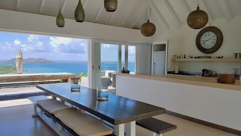 Villa Sexy - Modern Villa Rental St Barth with a Spectacular Sunset View - Main Area