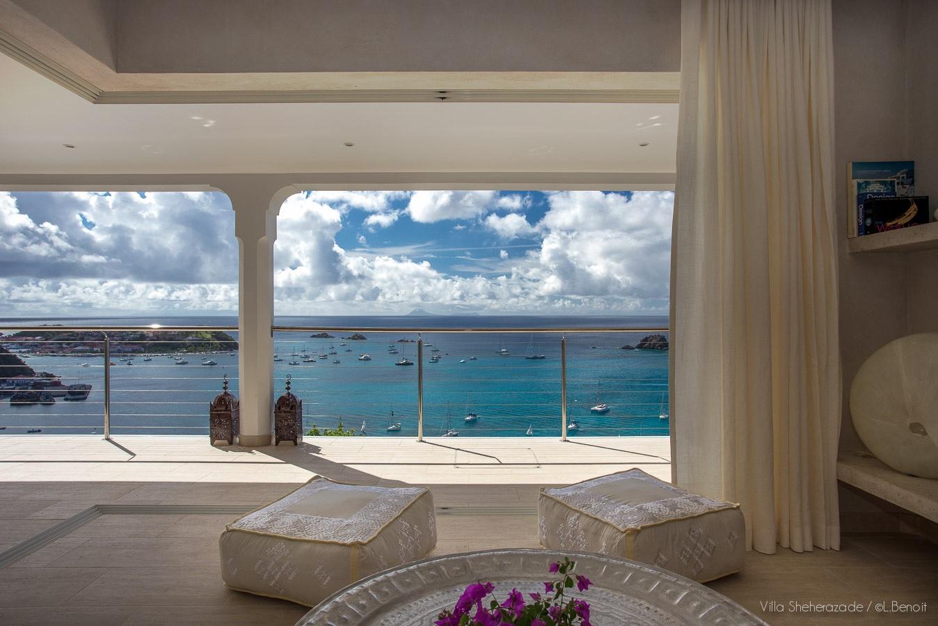 Villa Sheherazade - Morrocan Style Villa for Rent St Barth Perfect for Honeymoon - Seaview