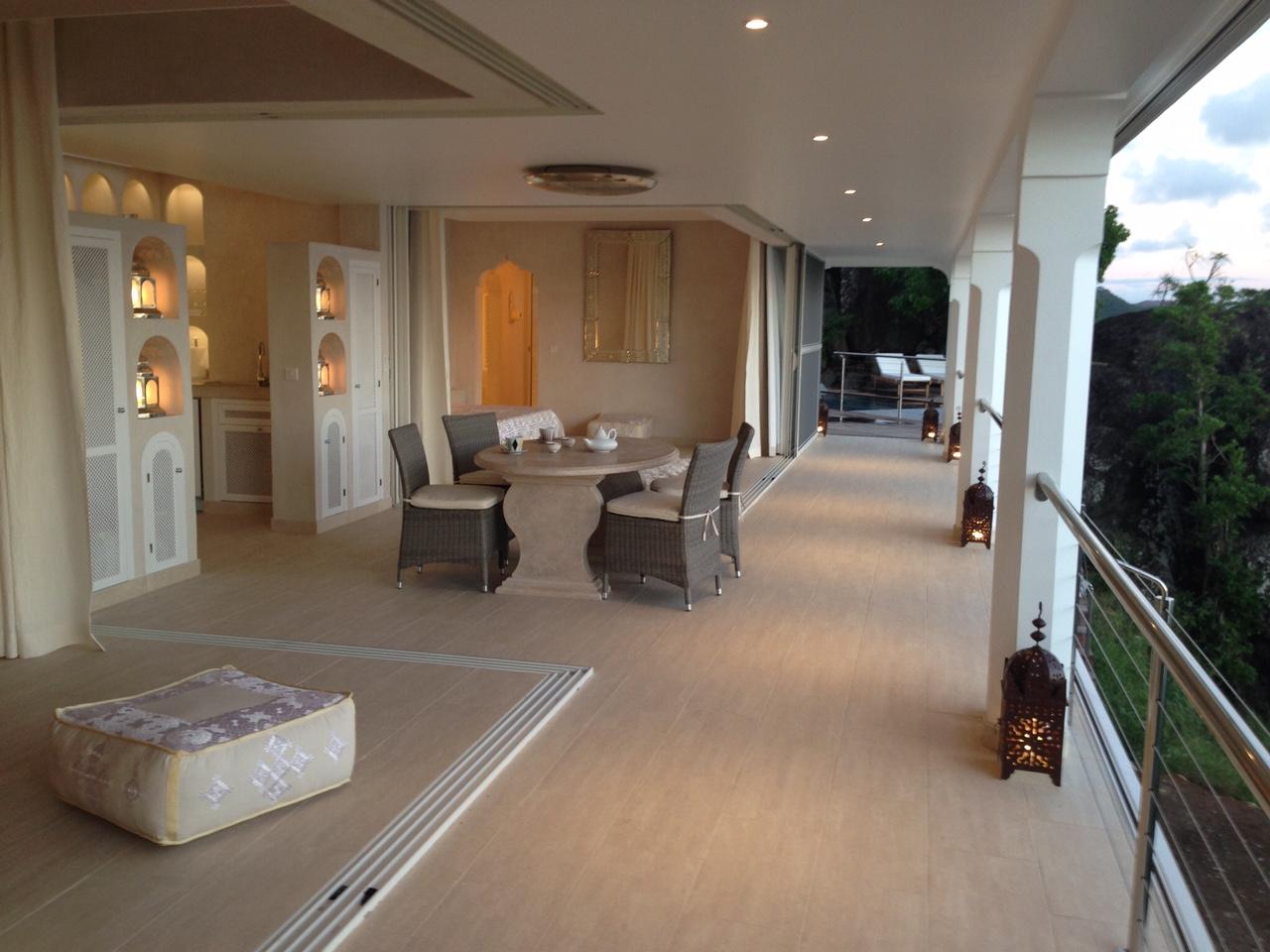 Villa Sheherazade - Morrocan Style Villa for Rent St Barth Perfect for Honeymoon - Main Area