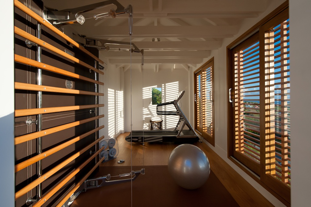 Villa Sol Y Mar - Privacy Villa for Rent St Barth with Fitness Equipment - Fitness Equipment