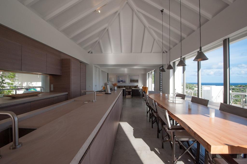 Villa Sol Y Mar - Privacy Villa for Rent St Barth with Fitness Equipment - Main Area