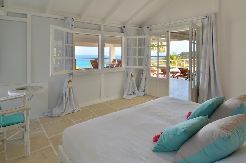 Villa Sunrise - Sunset Villa for Rent St Barth with Pool - Bedroom