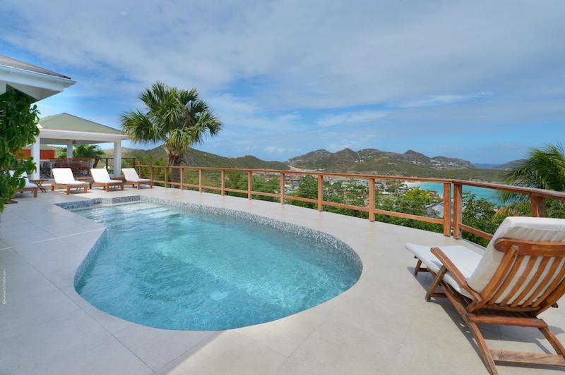 Villa Sunrise - Sunset Villa for Rent St Barth with Pool - Pool