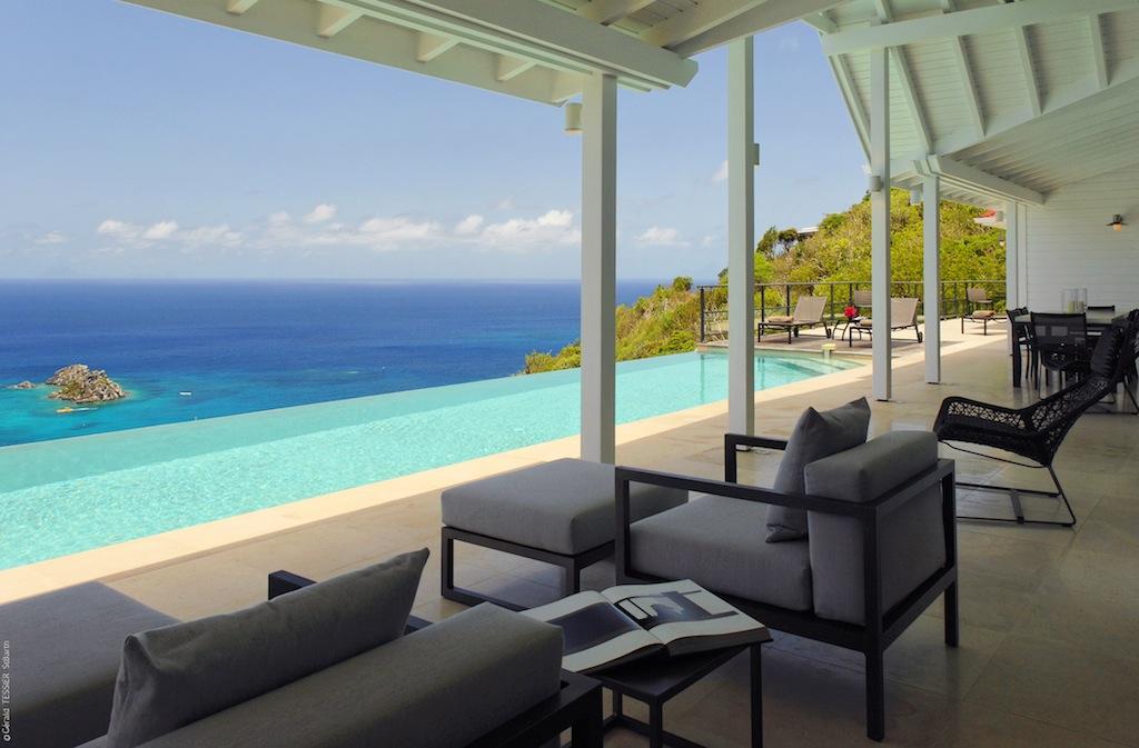 Villa The View - Chic Villa for Rent St Barth Perfect for Suntan Addicts - Seaview