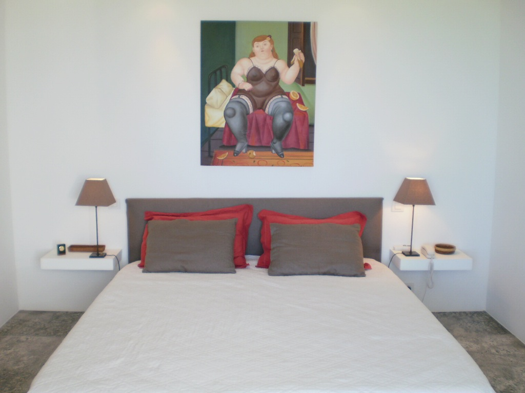 Villa Ti Agave - Modern Villa Rental St Barth Facing the Caribbean Ocean - Bedroom