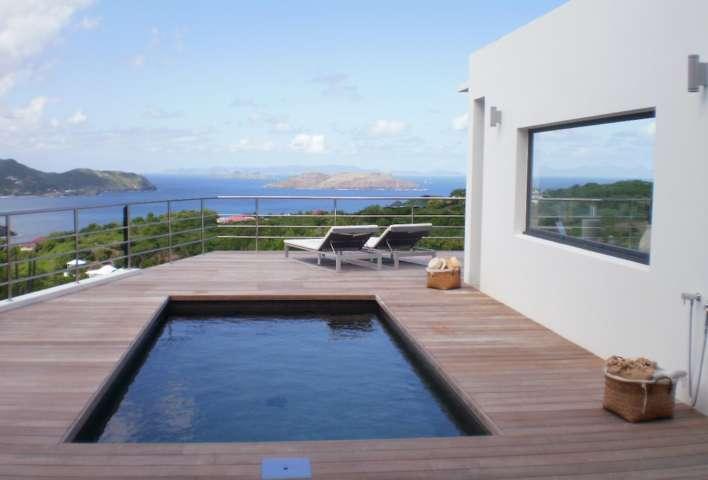 Villa Ti Agave - Modern Villa Rental St Barth Facing the Caribbean Ocean - Pool