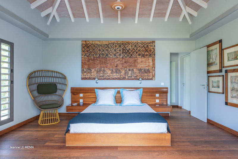Villa Triagoz - Privacy Villa for Rent St Barth with Heated Pool - Bedroom