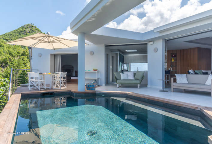 Villa Triagoz - Privacy Villa for Rent St Barth with Heated Pool - Swimming Pool