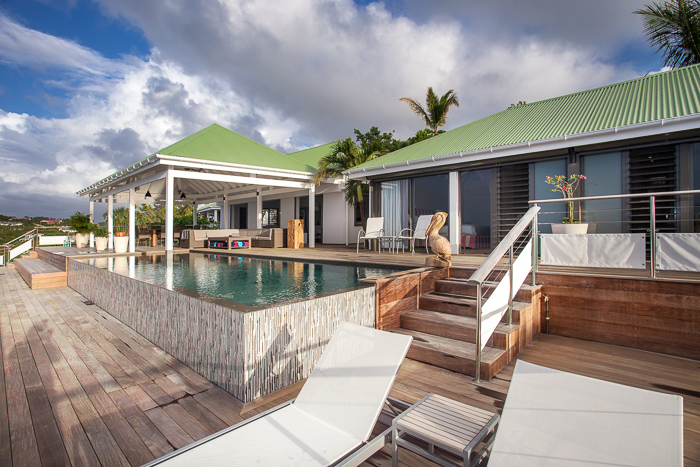 Villa W View - Breezy Villa for Rent St Barth with Fitness Equipment - Outside View