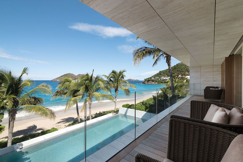 Villa Wake Up - Beachfront Villa for Rent St Barth with Luxury Supplies - Swimming Pool and Seaview