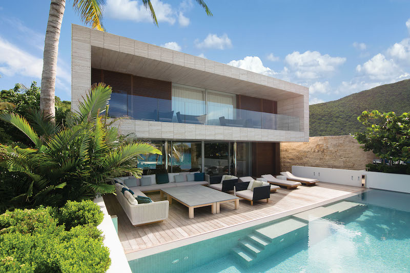 Villa Wake Up - Beachfront Villa for Rent St Barth with Luxury Supplies - Outside View