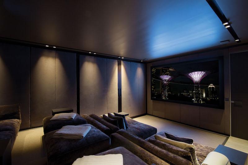 Villa Wake Up - Beachfront Villa for Rent St Barth with Luxury Supplies - Cinema
