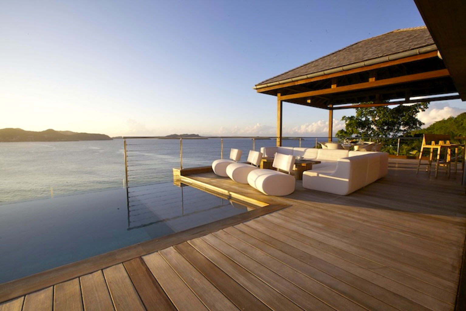 Villa What Else - Balinese Villa for Rent St Barth with Car Rental Included - Ocean view