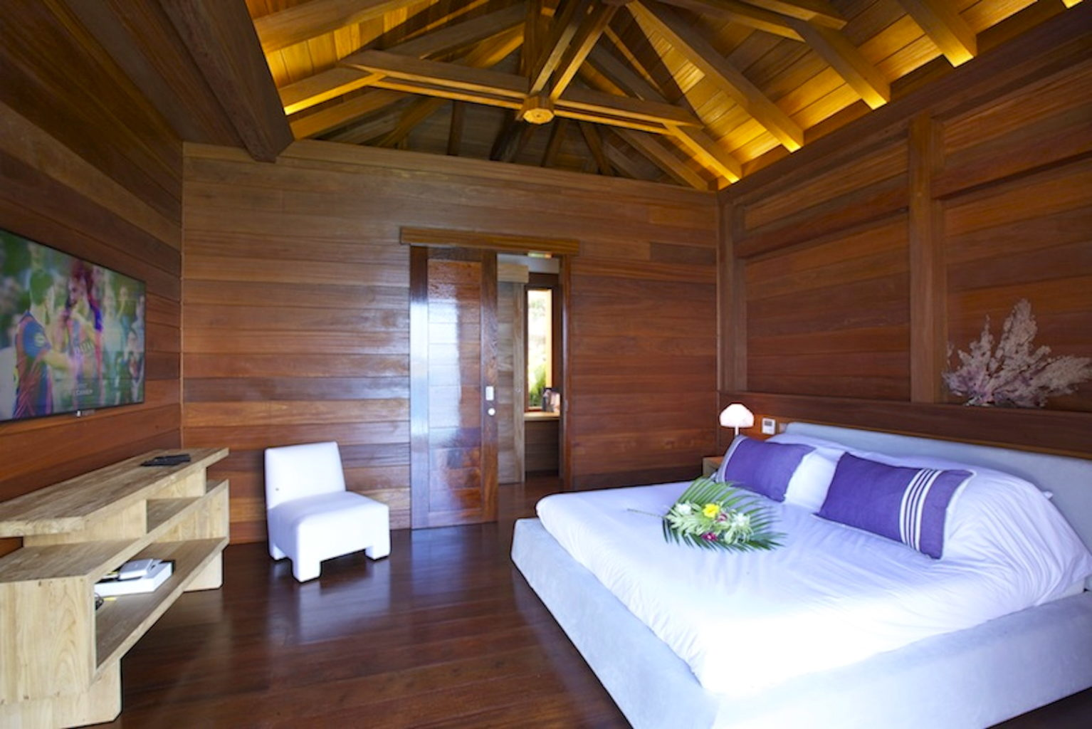 Villa What Else - Balinese Villa for Rent St Barth with Car Rental Included - Bedroom