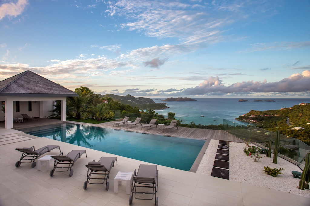 Villa Wine Note - 5 Bedroom Villa for Rent St Barth with Gym - Pool