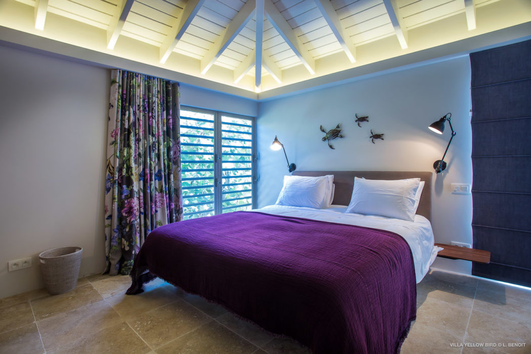 Villa Yellow Bird - Chic Villa for Rent St Barth Ideal for a Serene Vacation with Authentic Atmosphere - Bedroom