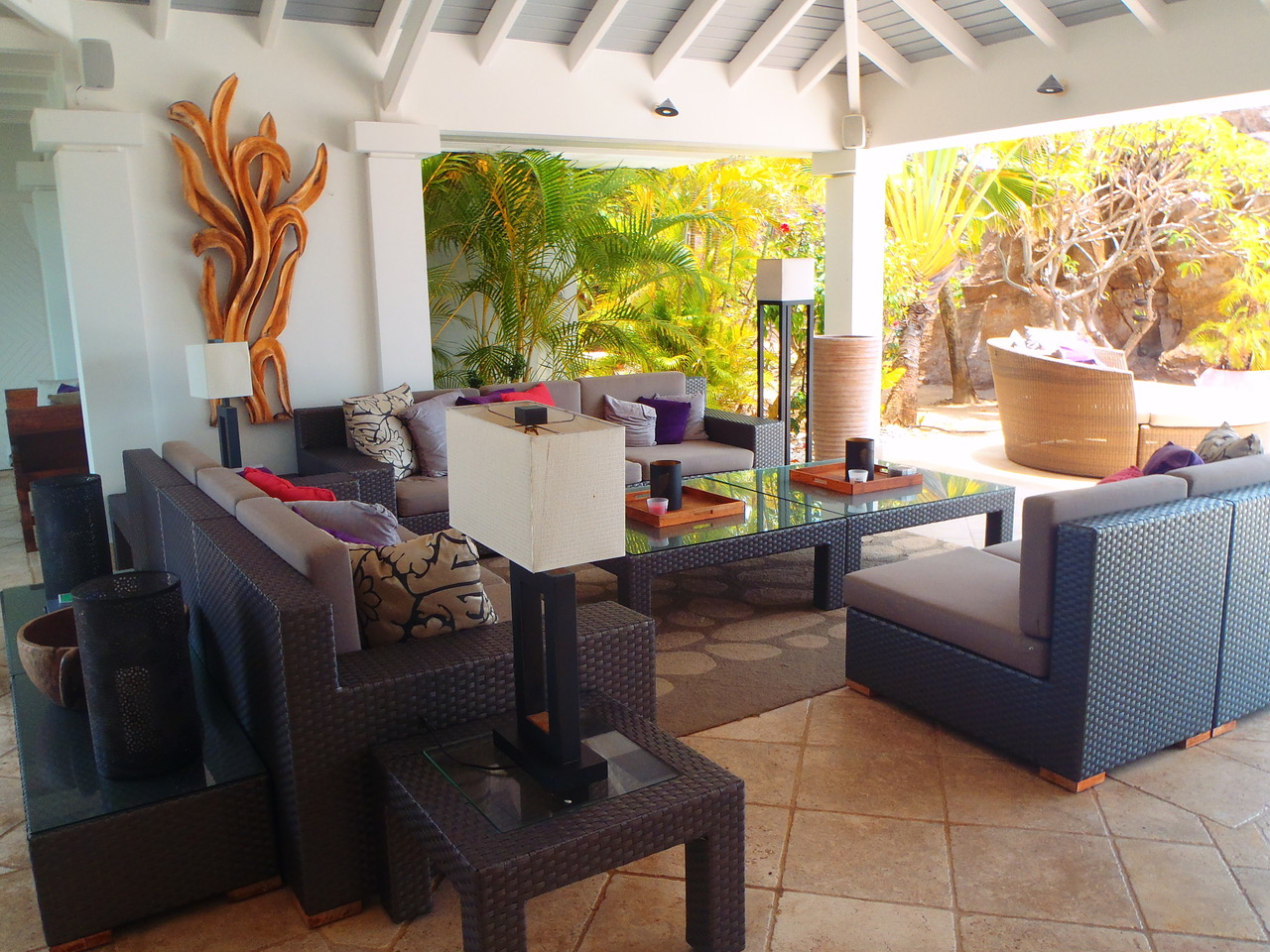 Villa Zen - Seaview Villa for Rent With Jacuzzi and Pool - Patio